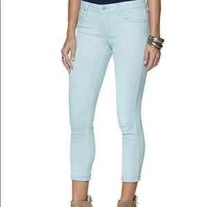 Jessica Simpson Rolled Crop Skinny Jeans size 6/28